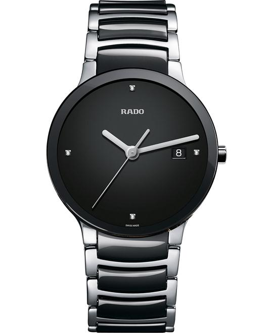 Rado Centrix Swiss Diamond Ceramic Watch 38mm