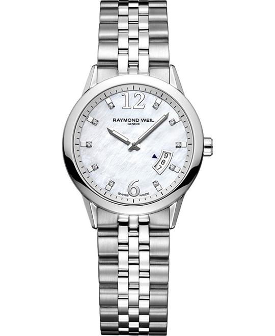 RAYMOND WEIL Freelancer Mother bof Pearl Watch 29mm