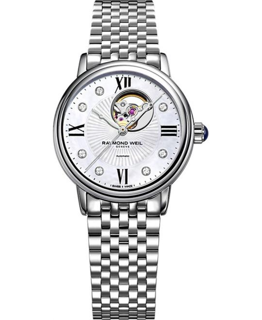 RAYMOND WEIL Maestro Diamond Automatic Watch 35mm