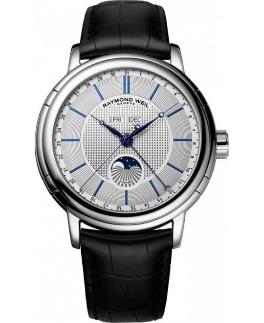 RAYMOND WEIL Maestro Moonphase Automatic Watch 44mm