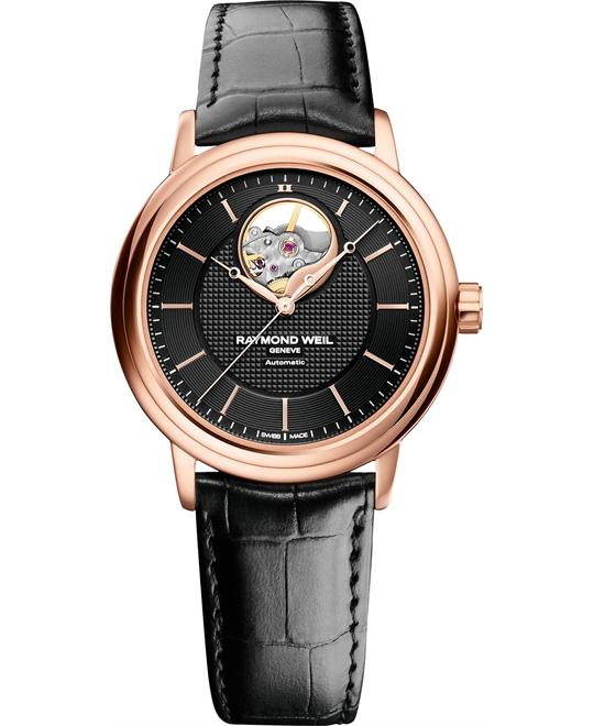 Raymond Weil Men's Maestro Automatic PVD Watch 40mm
