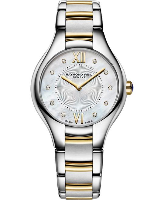 RAYMOND WEIL Noemia Diamond Ladies Watch 27mm