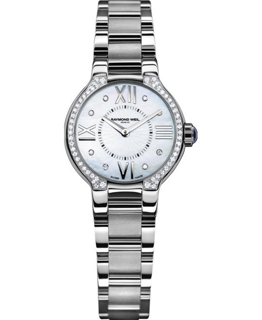 RAYMOND WEIL Noemia Diamond-Studded Watch 27mm