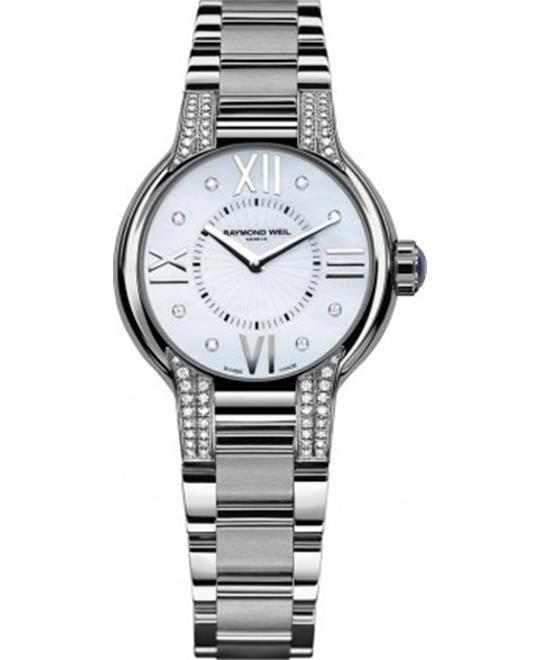 Raymond Weil Noemia Mother-Of-Pearl Dial Watch 32mm