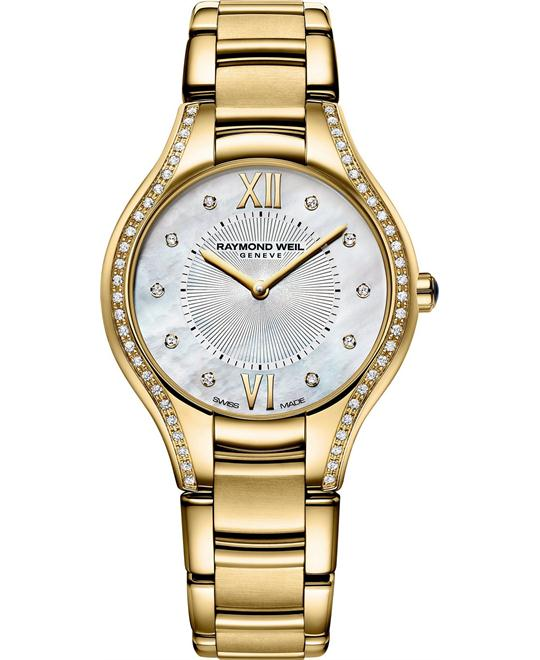 RAYMOND WEIL Noemia Diamond Watch 32mm