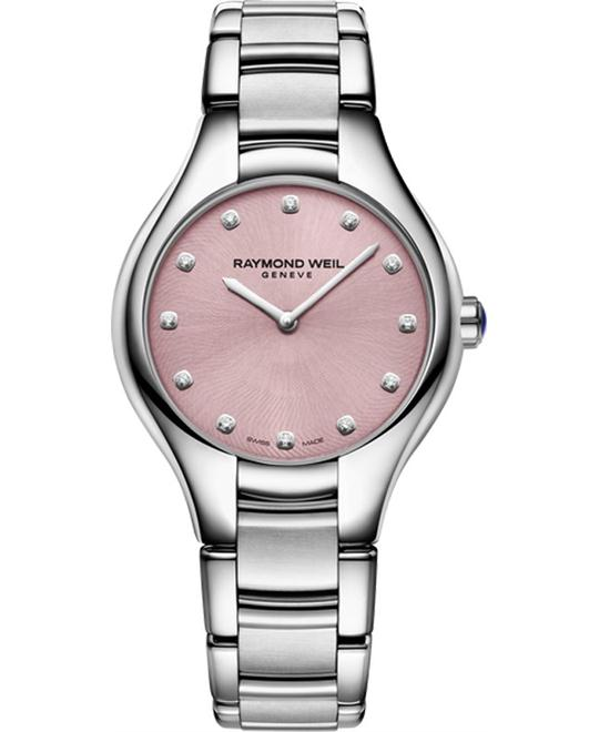 RAYMOND WEIL Noemia Pink Ladies Watch 32mm