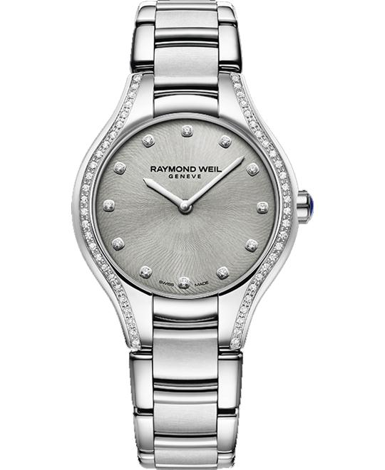 RAYMOND WEIL Noemia 64 Diamonds Watch 32mm