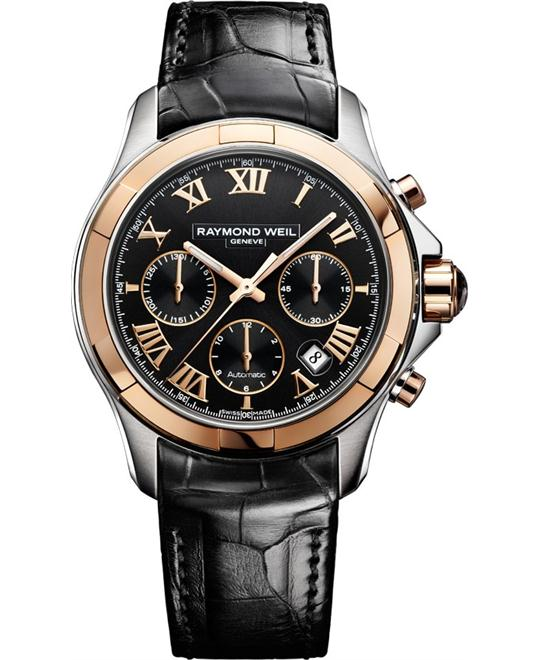 RAYMOND WEIL Parsifal Chronograph Automatic Watch 41mm