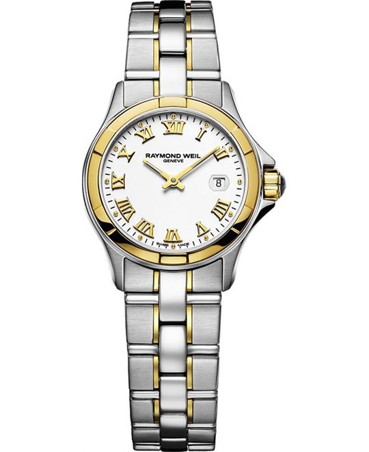 RAYMOND WEIL Parsifal 18k Yellow Gold Watch 28mm