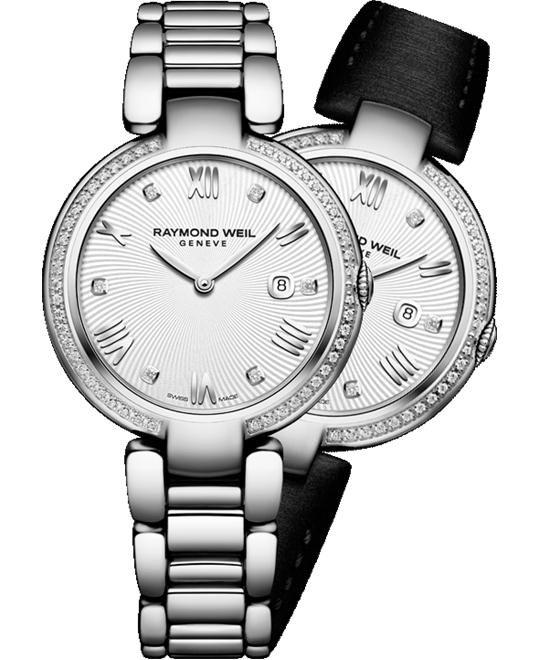 RAYMOND WEIL Shine 55 Diamond Watch 32mm