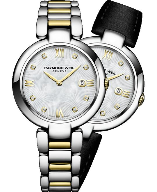 Raymond Weil Shine 8 Diamonds Watch 32mm