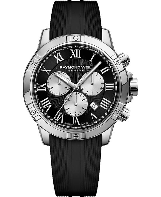 RAYMOND WEIL Tango Chronograph Black Watch 43mm