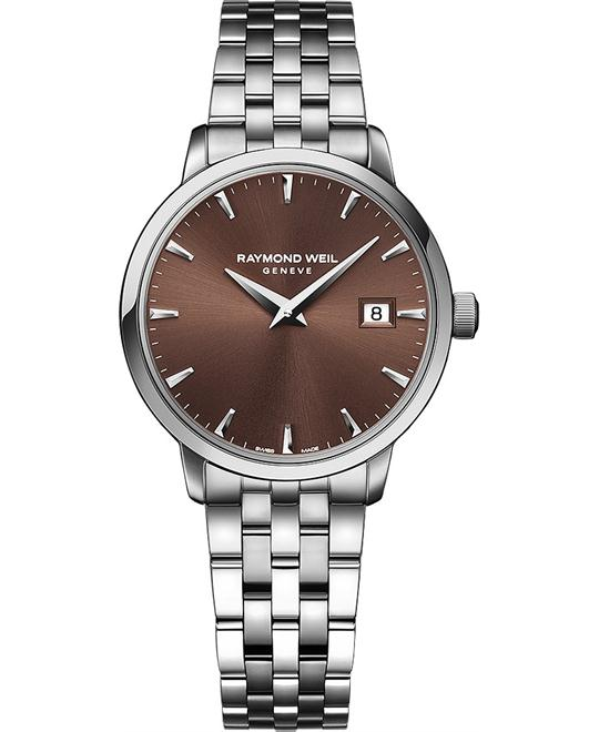 RAYMOND WEIL Toccata Brown Ladies Watch 29mm