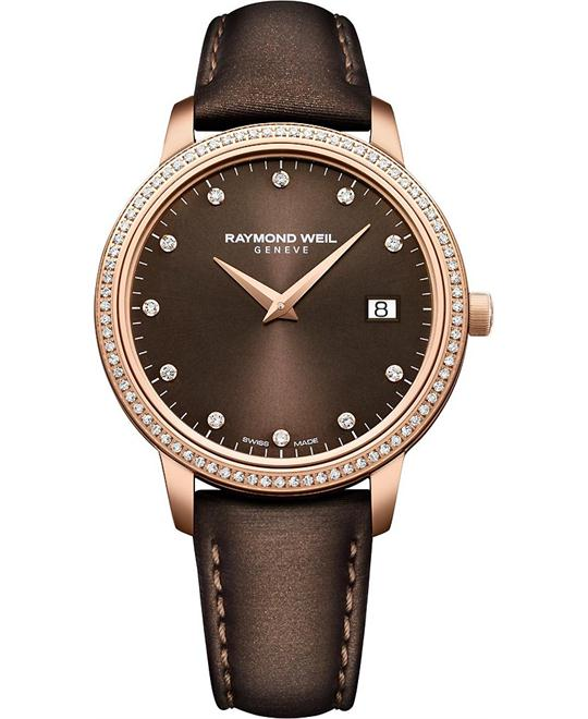 RAYMOND WEIL Toccata Brown Watch 34mm