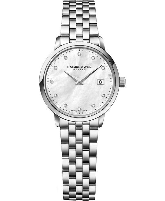 RAYMOND WEIL Toccata Diamond Ladies Watch 29mm