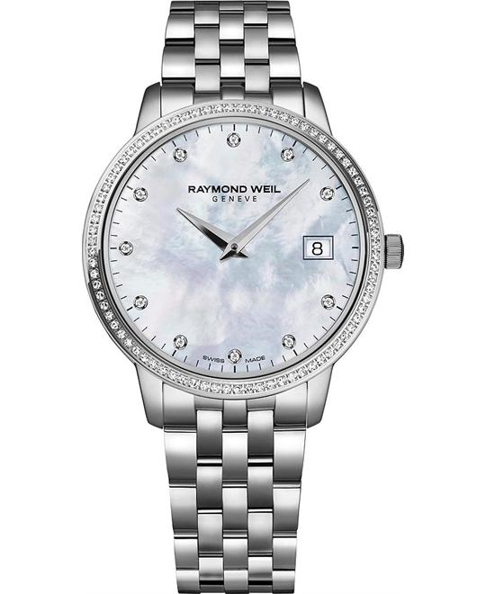 RAYMOND WEIL Toccata 91 Diamond Watch 34mm