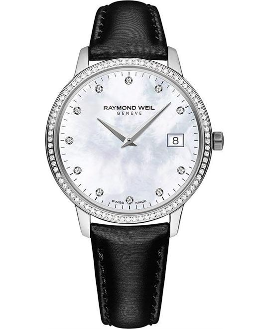 RAYMOND WEIL Toccata Diamond Watch 34mm