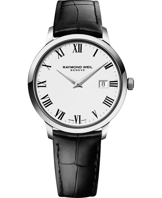 RAYMOND WEIL Toccata Leather Men's Watch 39mm