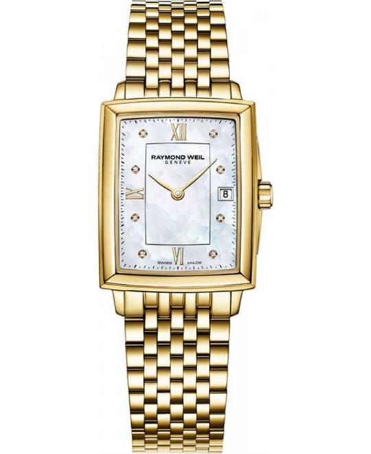 RAYMOND WEIL Tradition Diamond Watch 23x35mm