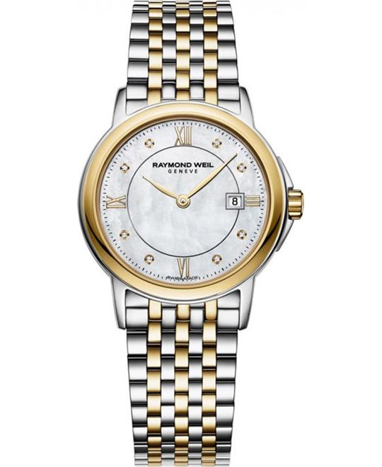 RAYMOND WEIL Tradition Mother Of Pearl Watch 28mm