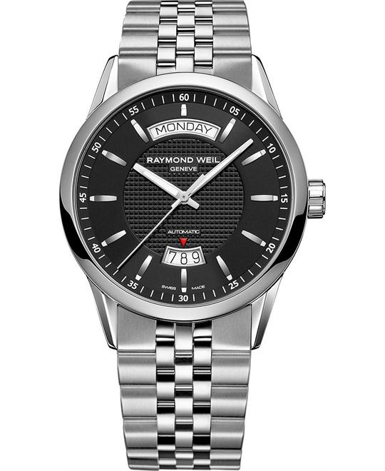 RAYMOND WEIL Freelancer Automatic Day Date Watch 42mm