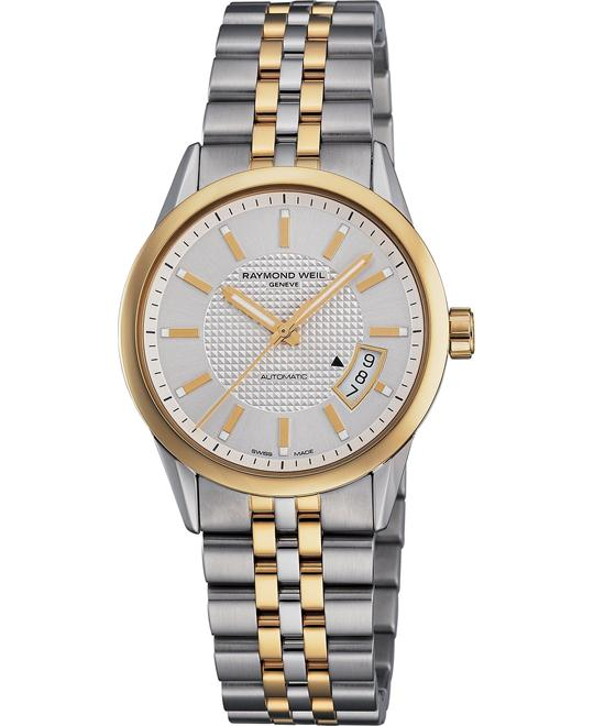 RAYMOND WEIL Watch, Men's Automatic Two Tone
