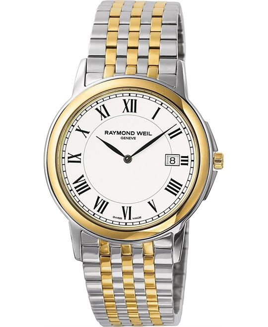 RAYMOND WEIL Watch, Men's Tradition Two Tone 39mm
