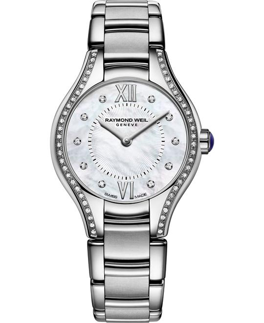 RAYMOND WEIL Noemia Diamond Watch 24mm
