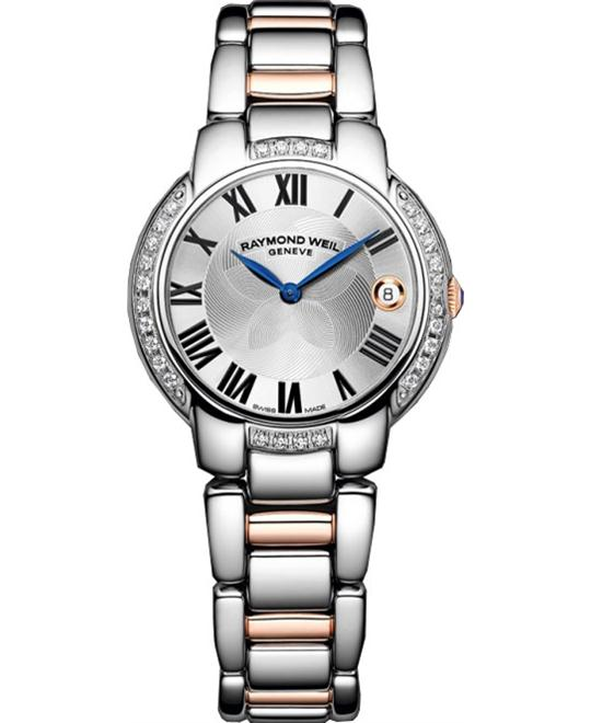 RAYMOND WEIL Jasmine Diamond Watch 35mm