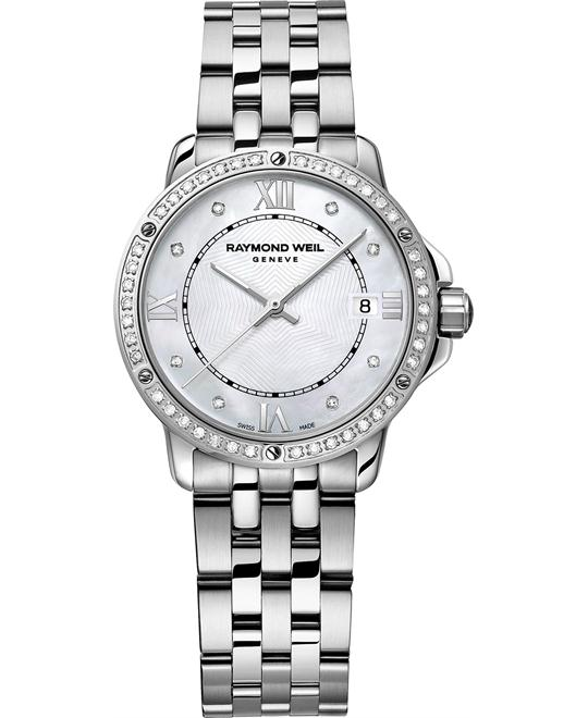 RAYMOND WEIL Tango Diamond Swiss Watch 28mm