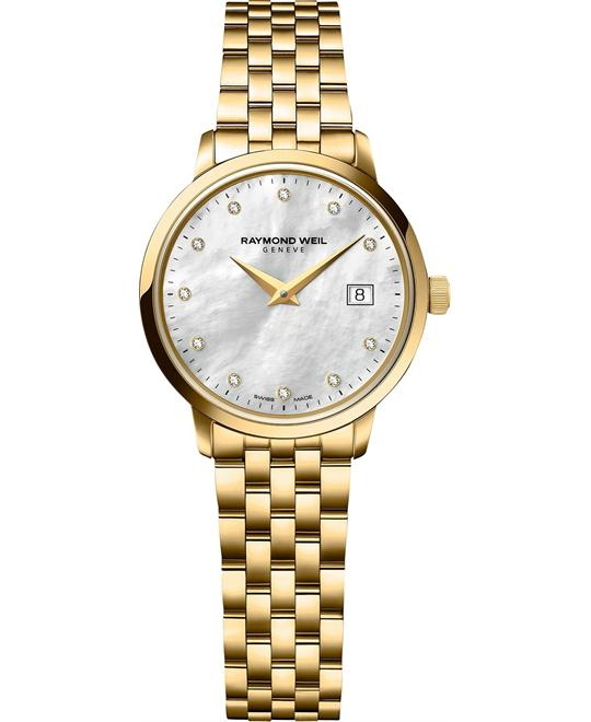 RAYMOND WEIL Toccata Swiss Diamond Watch 29mm