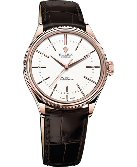 ROLEX CELLINI TIME  50505-0010 AUTOMATIC WATCH 39MM
