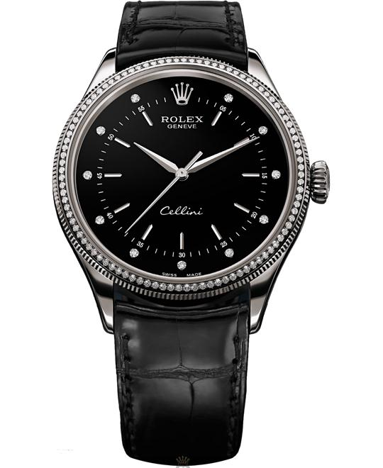 Rolex Cellini Time 50609RBR Mens Watch 39mm