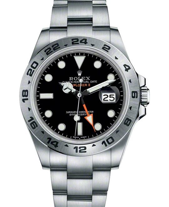 ROLEX Explorer II 216570 Black Automatic Men's Watch 42mm