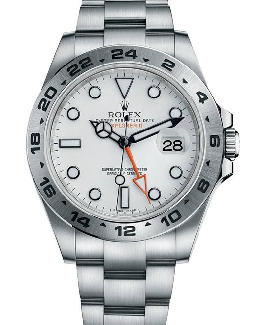 ROLEX Explorer II White Automatic Men's Watch 42mm