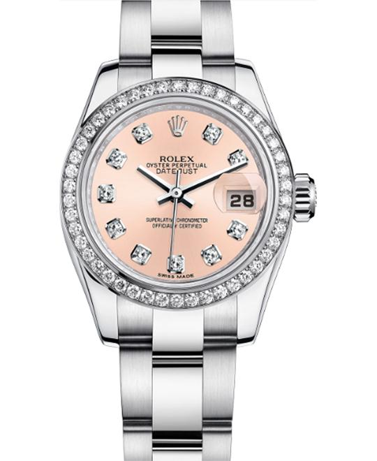 ROLEX LADY-DATEJUST 179384 Oyster Diamonds 26mm