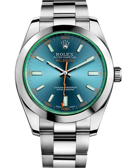 Rolex Milgauss 116400GV Oyster Perpetual Watch 40mm