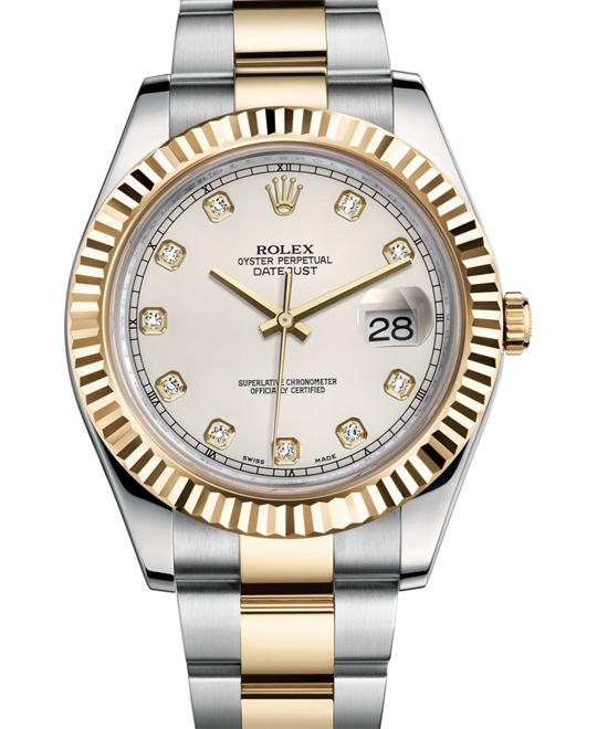 Rolex Oyster Perpetual Datejust II Watch 41mm