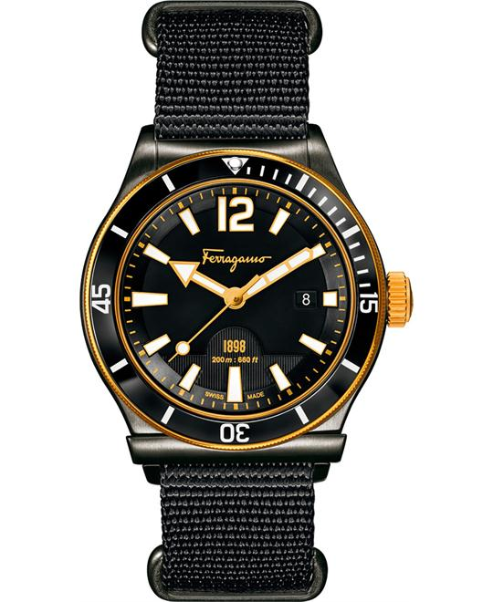 Salvatore Ferragamo FF3200015  1898 Sport Black Watch 43mm