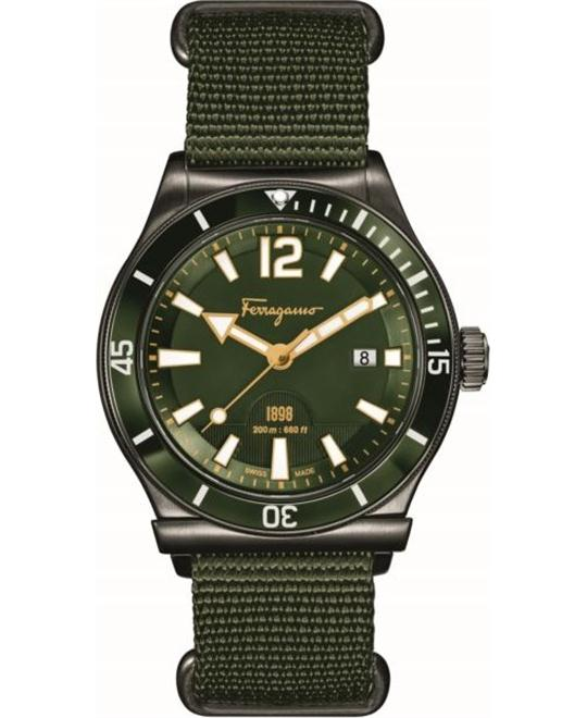 Salvatore Ferragamo FF3230015  1898 Sport Green 43mm