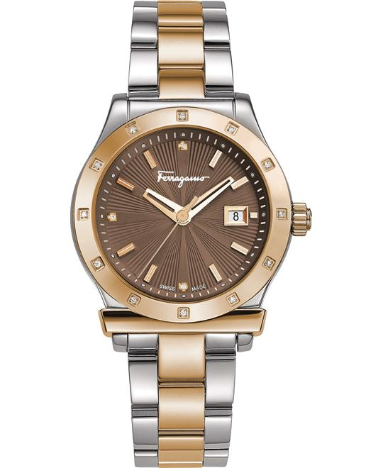 Salvatore Ferragamo FF3310016 1898 Swiss Quartz 33mm