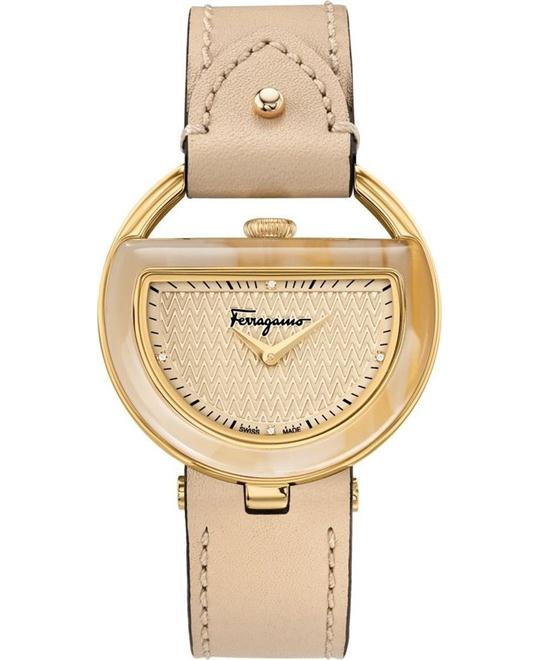 SALVATORE FERRAGAMO FG5070014 BUCKLE DIAMOND 37MM