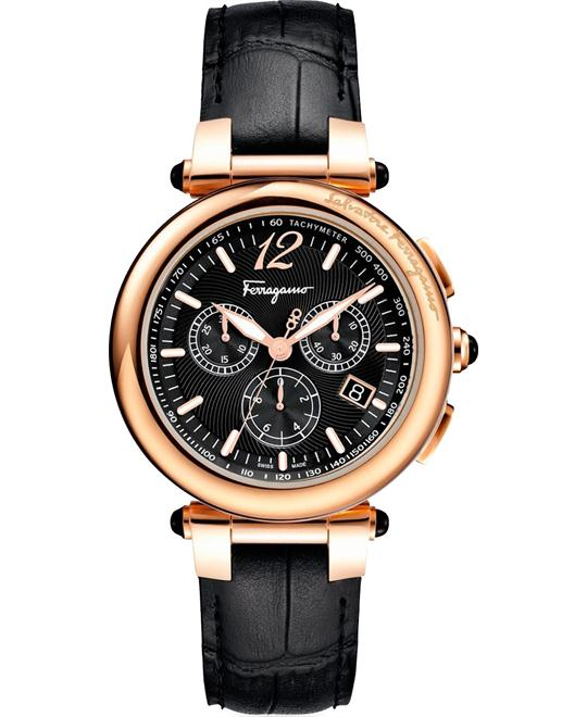 Salvatore Ferragamo F77LCQ5009 SB09  Idillio Black 42mm