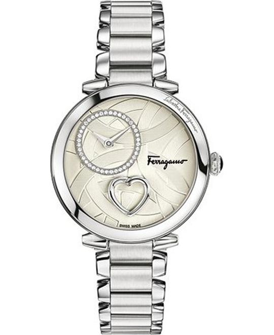 Salvatore Ferragamo Cuore Diamond Women's Watch 39mm