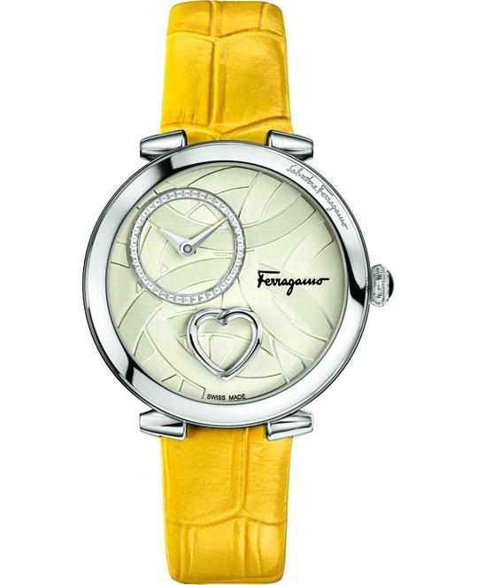 Salvatore Ferragamo FE2010016 Cuore Yellow Watch 39mm