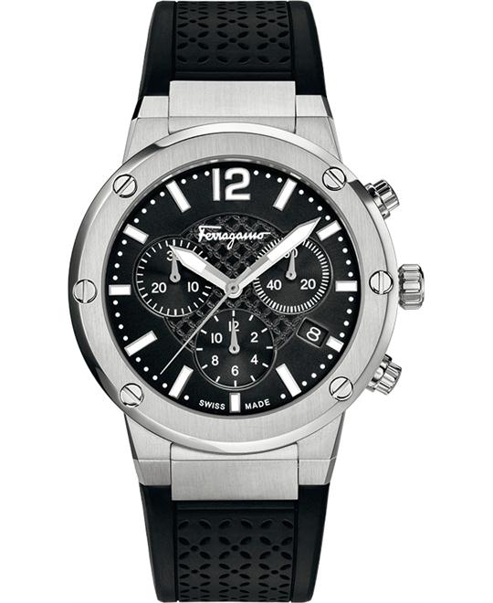 Salvatore Ferragamo FIH010015 F-80 Chrono Black 39mm