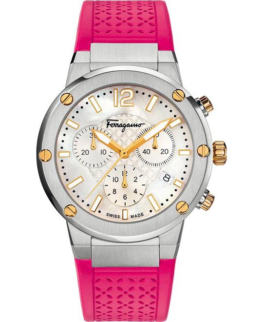 Salvatore Ferragamo FIH020015 F-80 Chrono Watch 39mm