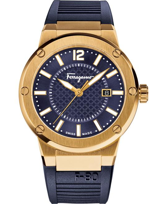 Salvatore Ferragamo FIF050015 F-80 Navy Blue 44mm