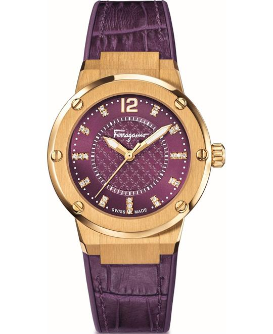 Salvatore Ferragamo FIG160016 F-80 Watch 33mm