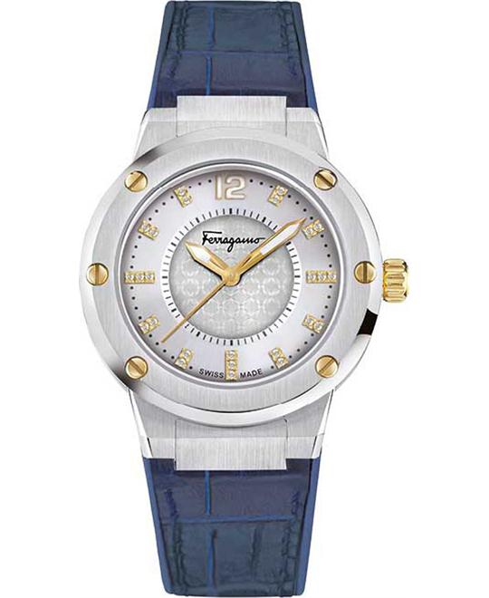 Salvatore Ferragamo FIG170016 F-80 Swiss Quartz 33mm